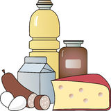 Voedsel Stock Foto