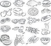 Voedsel royalty-vrije illustratie