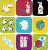 Voedsel Royalty-vrije Stock Afbeeldingen