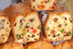 Voedsel bij de traditionele straatmarkt stock foto