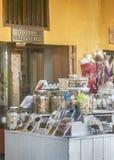 Voedsel bij Suikergoed bij Straatmarkt in Cartagena Colombia Stock Afbeeldingen