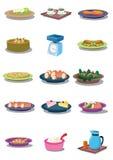 Voedsel binnen   Stock Foto's