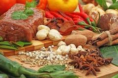 Voedsel en bevarage Stock Foto
