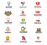 Voedsel en Drankensymbool Royalty-vrije Stock Foto's