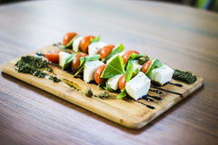 Voedsel en drankfoto door ZVEREVA Stock Foto's