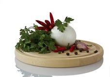 Voedsel en kruidenkruid voor het koken Stock Foto's