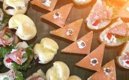 Voedsel en snack Stock Fotografie