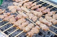 Voedsel geroosterd varkensvlees Royalty-vrije Stock Afbeelding