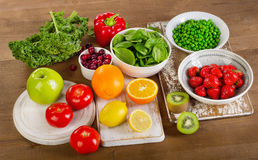 Voedsel Hoog in Vitamine C stock afbeelding