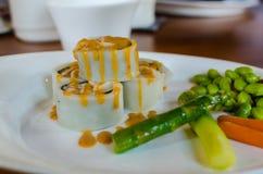 Voedsel in nanyuan: Land van terugtocht en wellness Royalty-vrije Stock Foto