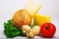 Voedsel nuttig aan gezondheid Stock Foto's