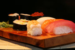 Voedsel: Sushi Royalty-vrije Stock Foto