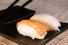 Voedsel: Sushi Stock Afbeelding