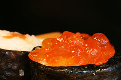 Voedsel: sushi detail Royalty-vrije Stock Foto's