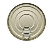 Voedsel Tin Can royalty-vrije stock fotografie