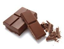 Voedsel van de desseretsuiker van de chocoladereep het zoete Stock Afbeelding