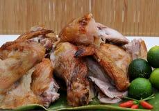 Voedsel van de Filippijnen, Lechon Manok (Geroosterde Kip) Royalty-vrije Stock Foto's