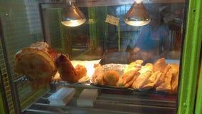 Voedsel van de Puerto het rican straat Stock Foto's