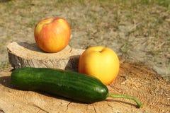 Voedsel van de vegetariër Stock Fotografie