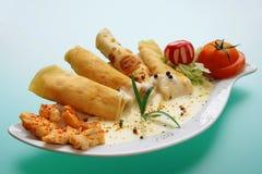 Voedsel (vector) stock foto's