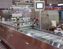 Voedsel verpakkende machine royalty-vrije stock fotografie