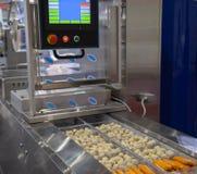 Voedsel verpakkende machine royalty-vrije stock foto