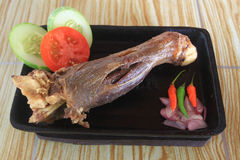 Voedsel Verwerkte Vleesgeiten Royalty-vrije Stock Afbeelding