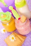 Voedsel voor baby Royalty-vrije Stock Foto's