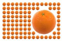 Voedsel, Vruchten, Sinaasappel Royalty-vrije Stock Afbeeldingen