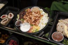 Voedselbuffet stock afbeelding
