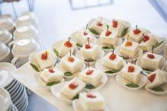 Voedselcocktail in Partij stock afbeeldingen