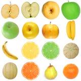 Voedselcollage Stock Fotografie
