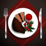 Voedselillustratie Stock Afbeeldingen