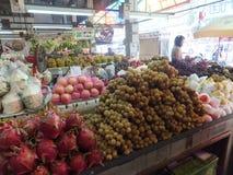 Voedselmarkt Thailand Stock Foto's