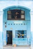 Voedselopslag in Havana, Cuba Stock Foto