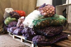 Voedselpakhuis in het leger royalty-vrije stock foto's