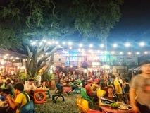 Voedselpark in cavite Filippijnen stock afbeeldingen