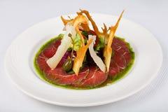 Voedselrestaurant voor het menu Stock Fotografie