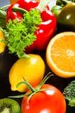 Voedselrijken in vitamine C royalty-vrije stock foto