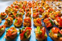 Voedselspecialiteiten Stock Fotografie