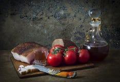 Voedselstilleven Royalty-vrije Stock Afbeeldingen