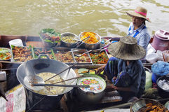 Voedselverkopers Stock Foto
