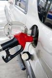 Voeg brandstof toe stock afbeeldingen