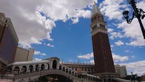 Voelt als Venetië in Vegas royalty-vrije stock afbeelding