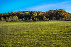Voeltendorf im Herbst Stockfotos