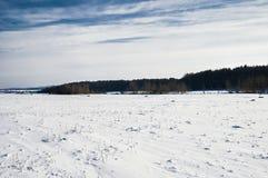 Voeltendorf im Winter Stockfotografie