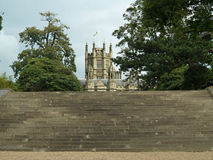 Voer het kasteel op Stock Fotografie