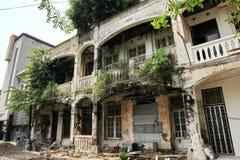 Voert het Oude de Stadsgebied van Semarang intensief vernieuwingen uit royalty-vrije stock afbeelding
