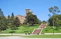 Voert Universitaire campus op Royalty-vrije Stock Afbeelding