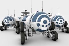 Voertuig - de ruimtezwerver, een mobiel laboratorium Royalty-vrije Stock Foto